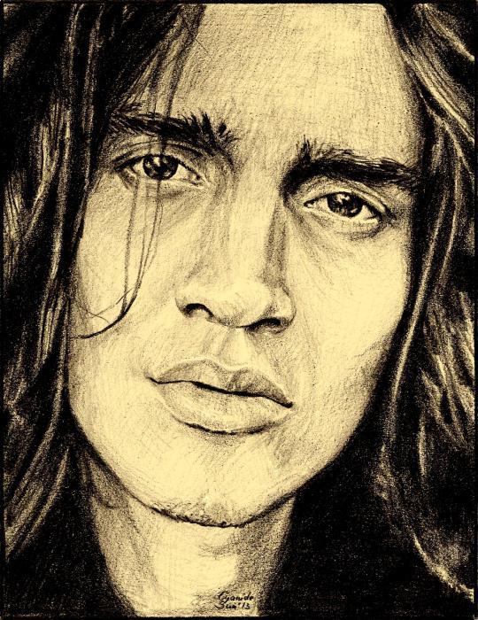 John Frusciante by cyanidesun